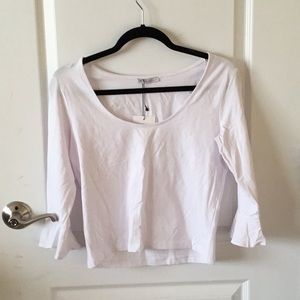 BRAND NEW: Zara white top